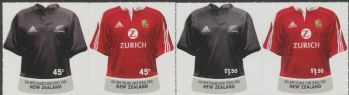 NZ SG2797a-99a New Zealand Lions Rugby Series set of 4 in pairs